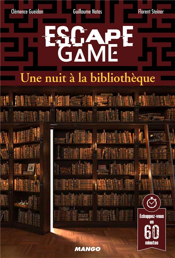 ESCAPE GAME : UNE NUIT A LA BIBLIOTHEQUE XXX MANGO
